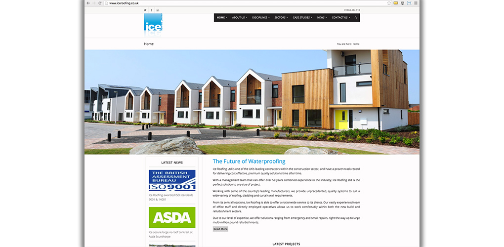 Website design in Herefordshire